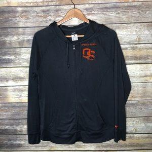 Nike hoodie lightweight full zip Oregon state OSU